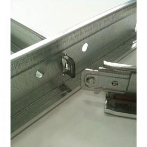 Δευτερεύων οδηγός οροφής λευκός Τ-15 S-0.60m