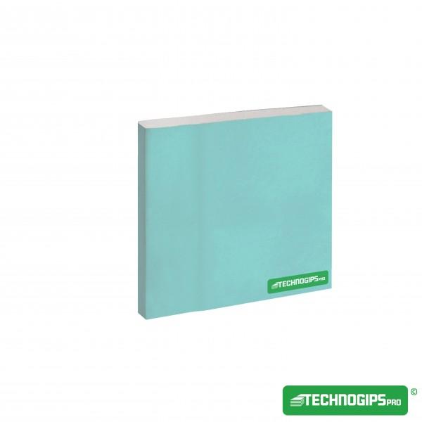 Γυψοσανίδα Technogips Ανθυγρή 2,50x1,20x12,5mm