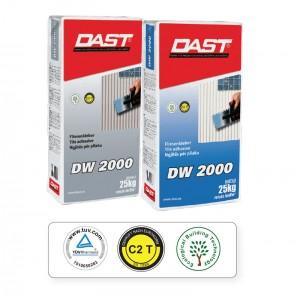 Κόλλα Πλακιδίων Dast DW 2000 (C2T) 25kg