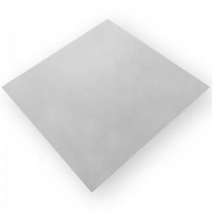 Πλάκα με βινυλική ταπετσαρία γκρι σαγρέ υφής 154 60Χ60cm με αλουμίνιο στο πίσω μέρος