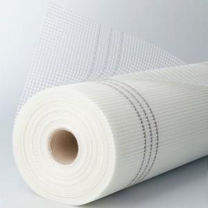 Αντιαλκαλικό πλέγμα 160gr 5x5mm λευκό 1x50m AKIFIX